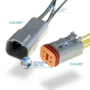 4-way Socket Connector