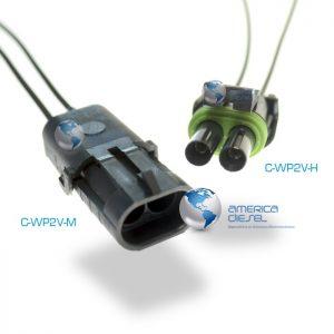 2-Way WP Pin Connector