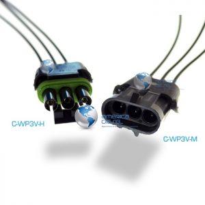 3-Way WP Pin Connector