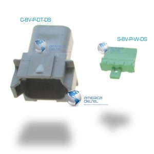 8-Way Connector Male