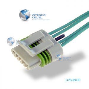 5-Way MP Gray Injector connector