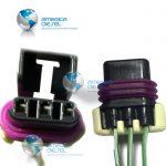 293 3W Assembled socket Connector