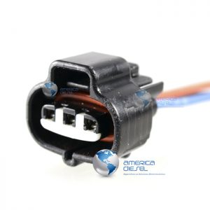 3 Way ISX EGR White Connector