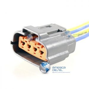 4 Way ISX EGR Orange Connector